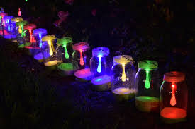 how to make solar powered mason jar lights with with string lighting beautiful outdoor mason