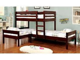 L shape furniture Shaped Sectional Furniture Of America Bedroom Lshaped Triple Twin Bunk Bed Lower Bed Cmbk6262 At The Furniture Mall The Furniture Mall Furniture Of America Bedroom Lshaped Triple Twin Bunk Bed Lower Bed