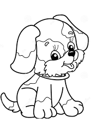 Print them online for free or download them for your child. Coloring Pages Printable Dog Coloring Page