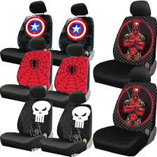 car seat covers new captain america marvel comic characters universal seat covers for car