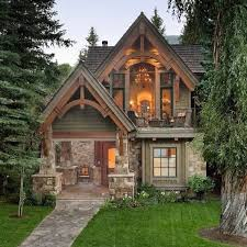 brilliant small stone cottage house plans