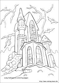 Cool Halloween Coloring Pages Scary Coloring Pages Coloring Page