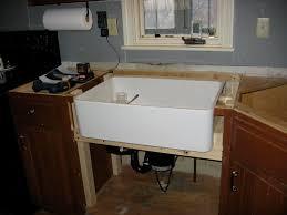 installing a farmhouse kitchen sink a front ikea model home design ideas farm