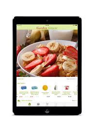 garden grocer on the app