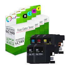 Magenta Yellow Ink Cartridge For Brother Mfc J470dw