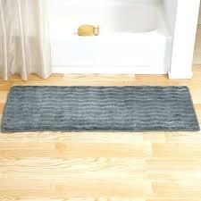 luxury bathroom rug runner from lavish home memory foam extra long bath mat platinum rugs uk extra long bathroom runner rugs