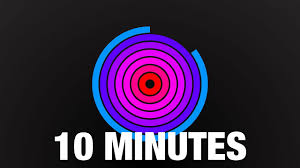 10 Minuite Timer 10 Minute Countdown Radial Timer With Beeps
