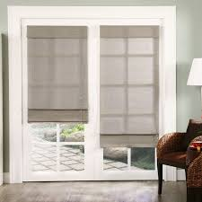 gray rectangle modern fabric 28 inch roman shades stained design