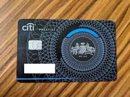Citi Prestige New Card Design How To Return Metal Citi Bank Prestige Credit Card Singleflyer