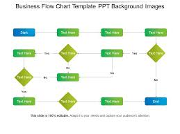 Workflow Chart Template Powerpoint Business Flow Chart Template Ppt Background Images