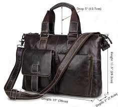 men and womens laptop messenger bag size