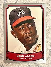 Hank Aaron 1988 Baseball Legends ...