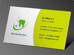 dental visiting card design online business card printing upload or use free business card
