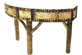 small circle table top semi circle accent table half console small wrought iron tables small round
