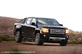 2018 gmc all terrain x. fine 2018 the gmc canyon all terrain x package with sport bar parked on a dirt road with 2018 gmc all terrain x t