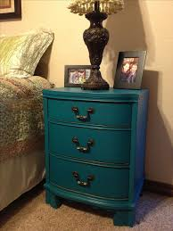painted furniture colors. night stand done in american paint company peacock from the ellis collection idea for redoing trashed furniture into dog beds painted colors