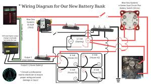blue sea systems add a battery wiring diagram how to build a 6 volt battery bank in series parallel w blue for sea add wiring diagram