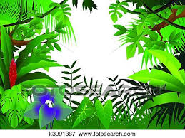 jungle background clipart. Exellent Clipart Clip Art  Jungle Background Fotosearch Search Clipart Illustration  Posters Drawings And Background Clipart C