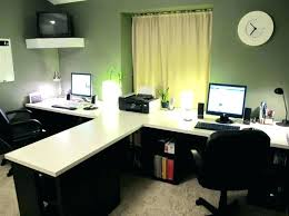 shaped home office. Ikea Desk Ideas Wondrous Design T Shaped Home Office Computer Room Designs Desks And