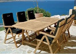 exterior furniture patio furniture clearance black chair seat pad with wooden frame and