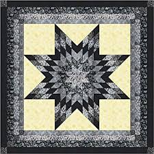 Amazon.com: Lonestar Shades of Black, White, and Gray Quilt Kit ... & Lonestar Shades of Black, White, and Gray Quilt Kit/Queen/EXPEDITED SHIPPING Adamdwight.com
