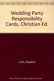 9780963965493: Wedding Party Responsibility Cards - AbeBooks ...
