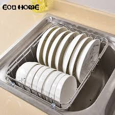 <b>Multifunctional Stainless Steel</b> Sink Draining Racks Holders ...