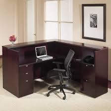 office star kenwood series 72 x 72 reception desk w two pedestal files