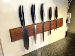 Custom Knife Blocks Custom Made Magnetic Knife Block For The Home Home  Improvement Home Improvement Wilson