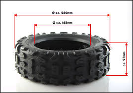 Off Road Tire Chart