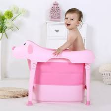 baby portable foldable bathtub pink baby bath tubs toys best canada