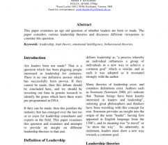 Qualities Of A Good Leader Essay Essay On Ship Qualities With Examples E2 80 93 Good