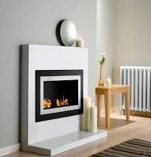 grand modern wall mounted ventless ethanol firep