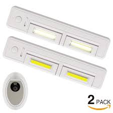 zoom torchstar 2 pack dimmable remote controlled led under cabinet light