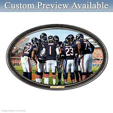 chicago bears wall decor going the distance bears personalized wall decor