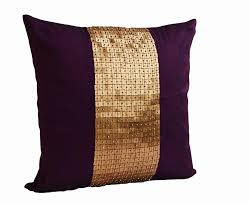 amazoncom amore beaute handmade purple throw pillows covers in