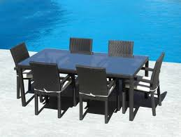 7Pc Outdoor Weather Wicker Dining Table Set I BUY NOW I FREE Shipping