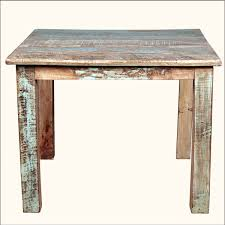 Details About Vidaxl Solid Reclaimed Wood Dining Table 472 Rustic
