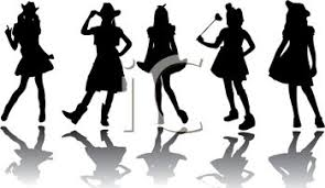 Image result for free cowgirl clipart