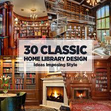 cheap image of 30 classic home library design ideas 1 home library