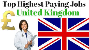 Top Highest Paying Jobs In Uk 2017 Youtube