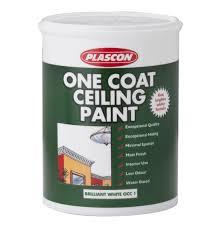 white ceiling paintPLASCON 5L One Coat Ceiling Paint White  Lowest Prices  Specials