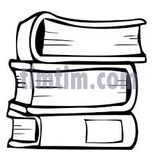 free drawing of books bw from the books news education timtim