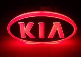 kia logo 2013. Wonderful Kia Free Shipping 2013 New Design 4D Led Auto Emblem Kia Logo K5  SORENTO Throughout Logo