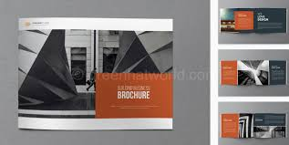 Brochures Templates Free Download Architect Brochure Template Free Download Architecture Brochure