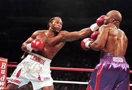 lennox lewis. lewis defeated evander holyfield in 1999 to become the unified world heavyweight champion lennox l