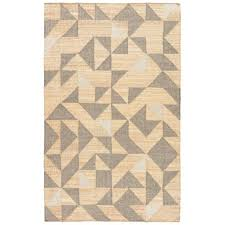 gray patterned rug geometric beige gray area rug