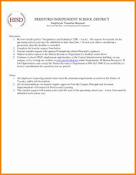 Internal Job Transfer Request Letter Example Tomyumtumweb Com