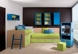 kids bedroom with tv. Casual Modern Kids Bedroom Design With Tv