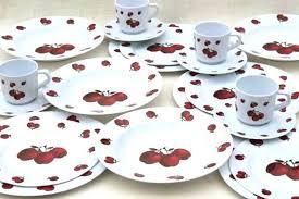 vintage red glass dinnerware vintage set of 6 ruby red glass bread er or dessert plates